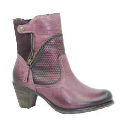Women's Dromedaris Fabiana Boot Violet Leather