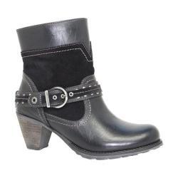 Women's Dromedaris Farrah Boot Black Leather