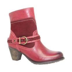 Women's Dromedaris Farrah Boot Red Leather