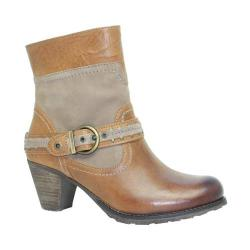 Women's Dromedaris Farrah Boot Saddle Leather