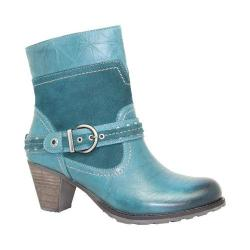 Women's Dromedaris Farrah Boot Teal Leather