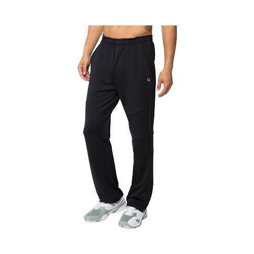 Men's Fila Adrenaline Pant Black/Chinese Red/Nine Iron
