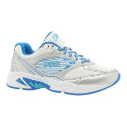 Women's Fila Inspell 3 Running Shoe White/Electric Blue/Blue Atoll