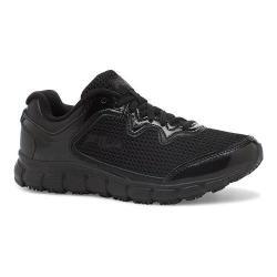 Women's Fila Memory Fresh Start SR Shoe Black/Black/Metallic Silver