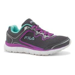 Women's Fila Memory Fresh Start SR Shoe Castlerock/Purple Cactus Flower/Cockatoo