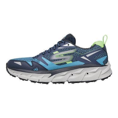 repentinamente Sobrio tienda  Shop Men's Skechers GOtrail Ultra 3 Running Shoe Blue/Green - Overstock -  11354924