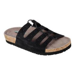 Women's Skechers Relaxed Fit Granola Wrap It Up Slide Sandal Black