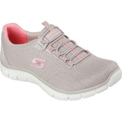 Women's Skechers Relaxed Fit Sport Empire Rock Around Walking Shoe Taupe
