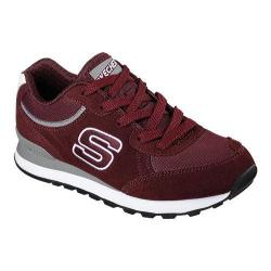 Women's Skechers Retros OG 82 Classic Kicks Sneaker Burgundy