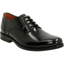 Men's Bostonian Kinnon Plain Toe Derby Black Leather