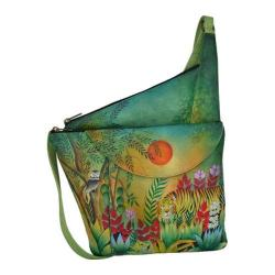 Women's Anuschka Asymmetric Slim Crossbody Rousseau's Jungle