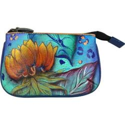 Women's Anuschka Medium Coin Purse Tropical Dream