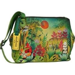Women's Anuschka Triple Compartment Convertible Tote Rousseau's Jungle