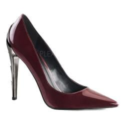 Women's Demonia Voltage 01 Pump Burgundy Patent