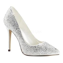 Women's Fabulicious Amuse 20RS Pump Ivory Satin