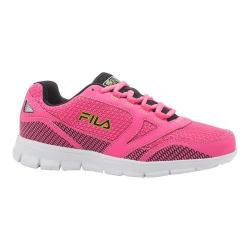 Women's Fila Direction Running Shoe Neon Pink/Neon Green/Black