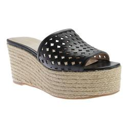 Women's Nine West Ertha Espadrille Black Leather