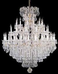 Chandelier Crystal 37 Lights H52 x W60