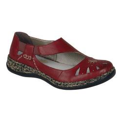 Women's Rieker-Antistress Daisy 15 Rosso Leather