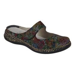Women's Rieker-Antistress Daisy 94 Clog Black/Multi Synthetic