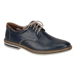 Men's Rieker-Antistress Diego 41 Plain-Toe Oxford Nautic/Mogano Leather/Synthetic Combo