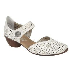 Women's Rieker-Antistress Mirjam 11 Mary Jane White/Bianco Leather