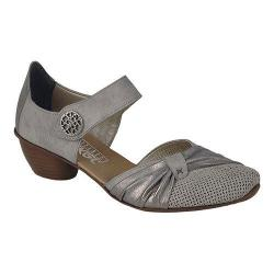 Women's Rieker-Antistress Mirjam 21 Mary Jane Grey/Grey Synthetic