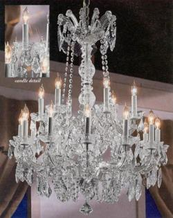 Maria Theresa Crystal Chandelier Lighting H30 x W28