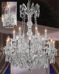 Maria Theresa Crystal Chandelier Lighting H30 x W28