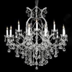New Crystal Chandelier Lighting With Crystal Balls W38 - Thumbnail 0