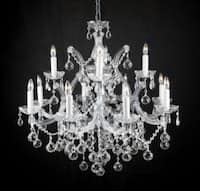New Lighting Chandelier Lighting With Faceted Crystal Balls