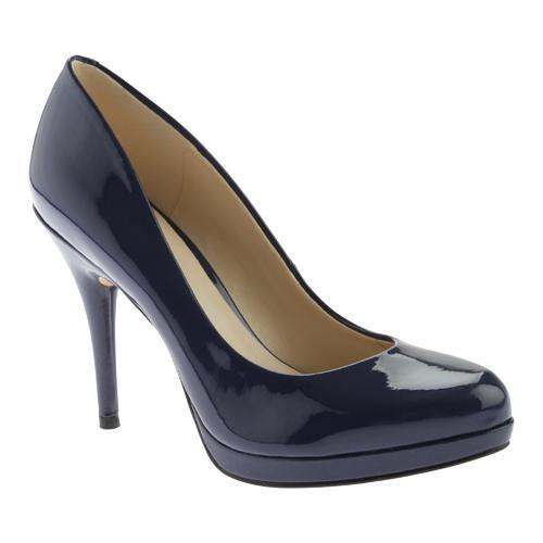 db325e678ff Shop Women s Nine West Kristal Platform Pump Navy Synthetic - Free Shipping  Today - Overstock - 11392098
