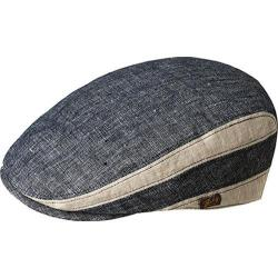 Men's Bailey of Hollywood Bruck Flat Cap 90085 Navy