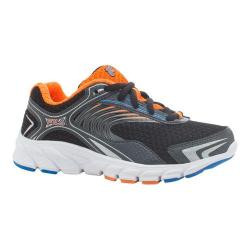Boys' Fila Maranello 3 Running Shoe Black/Castlerock/Shocking Orange