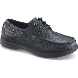 Men's Apex Classic Lace Boat Black Full Grain Leather