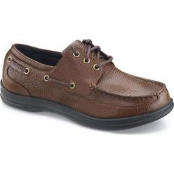 Men's Apex Classic Lace Boat Brown Full Grain Leather