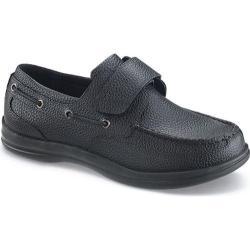 Men's Apex Classic Strap Boat Black Full Grain Leather