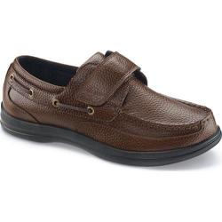 Men's Apex Classic Strap Boat Brown Full Grain Leather|https://ak1.ostkcdn.com/images/products/99/620/P18371452.jpg?impolicy=medium