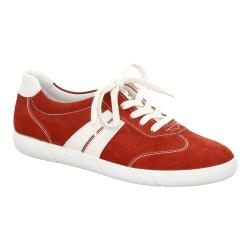 Women's ara Sadie 39644 Lace-Up Red Suede