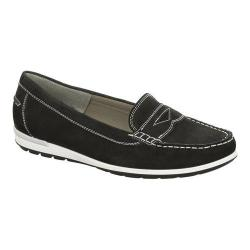Women's ara Monica 30859 Loafer Black Nubuck