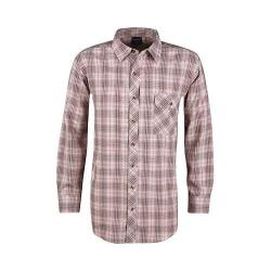 Men's Propper Covert Button-Up Long Sleeve Shirt Barn Red Plaid