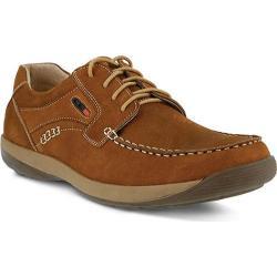 Men's Spring Step Duncan Lace Up Shoe Medium Brown Nubuck