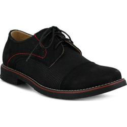 Men's Spring Step Liam Oxford Black Nubuck