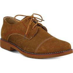 Men's Spring Step Liam Oxford Camel Nubuck