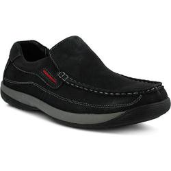 Men's Spring Step Morocco Slip-On Black Nubuck