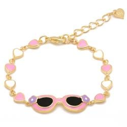 Lily Nily Girl's Sunglasses Link Bracelet