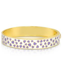 Lily Nily Girl's Mini-Hearts Pattern Bangle