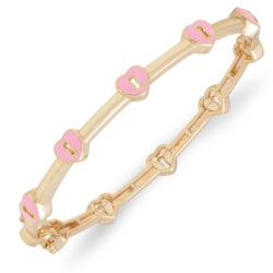 Lily Nily Girl's Heart Lock Bangle