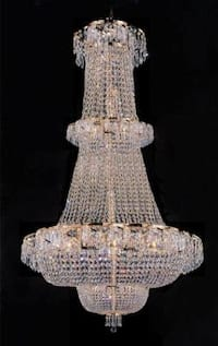 French Empire Crystal Chandelier With 21 Lights H50 x W30