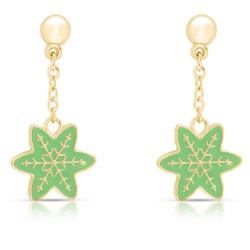 Lily Nily Girl's Snowflake Dangle Earrings